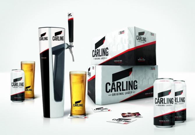 Carling 2017 full packaging range image