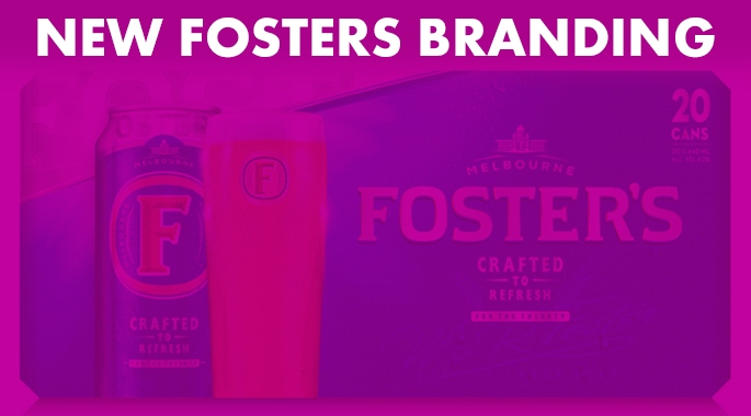 Fosters rebrand   Article Link