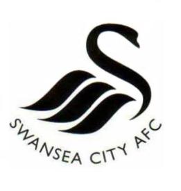 Swansea city current club crest logo badge