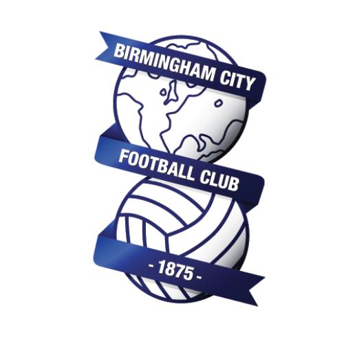 Birmingham city football club logo globe crest badge