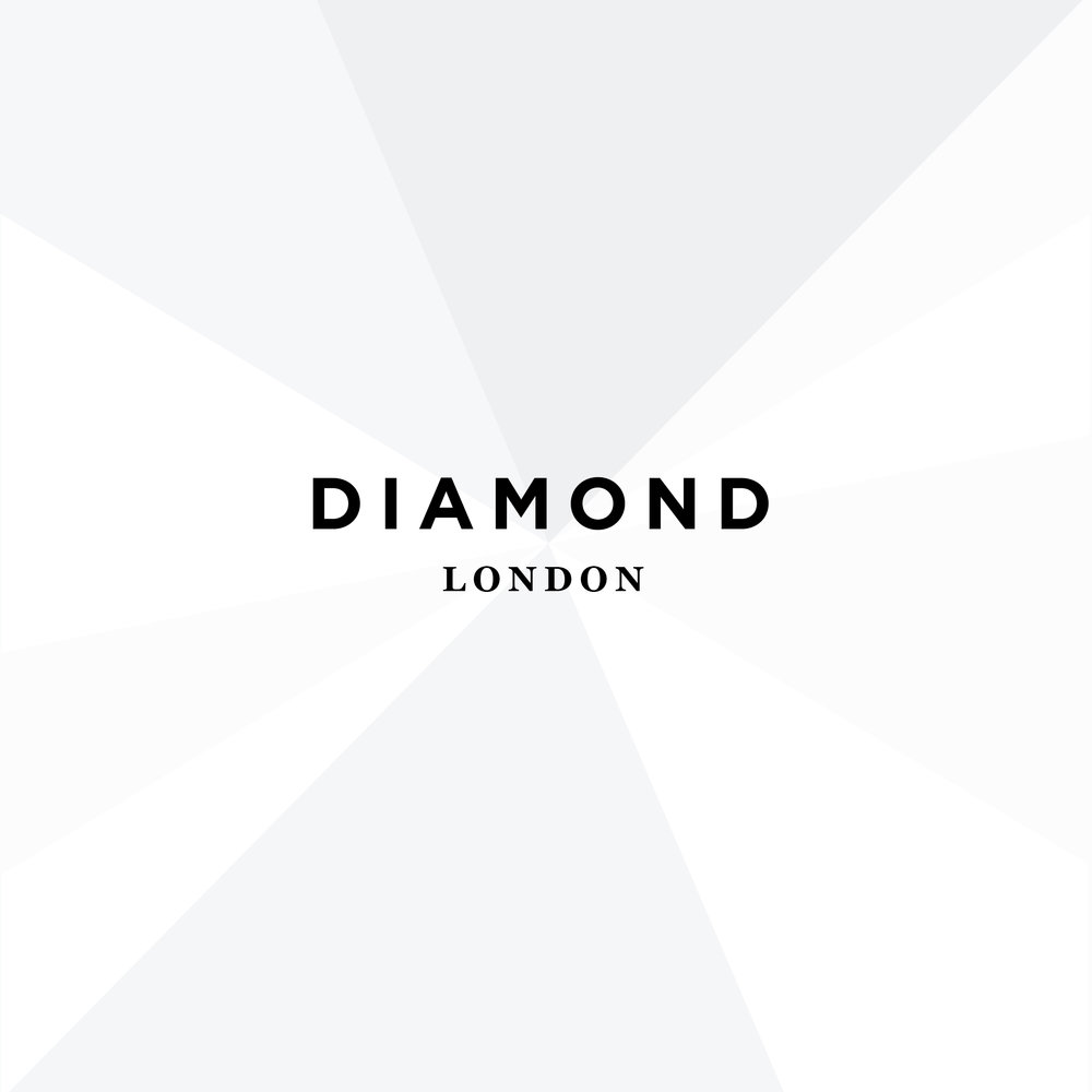Diamond london logo brand identity design