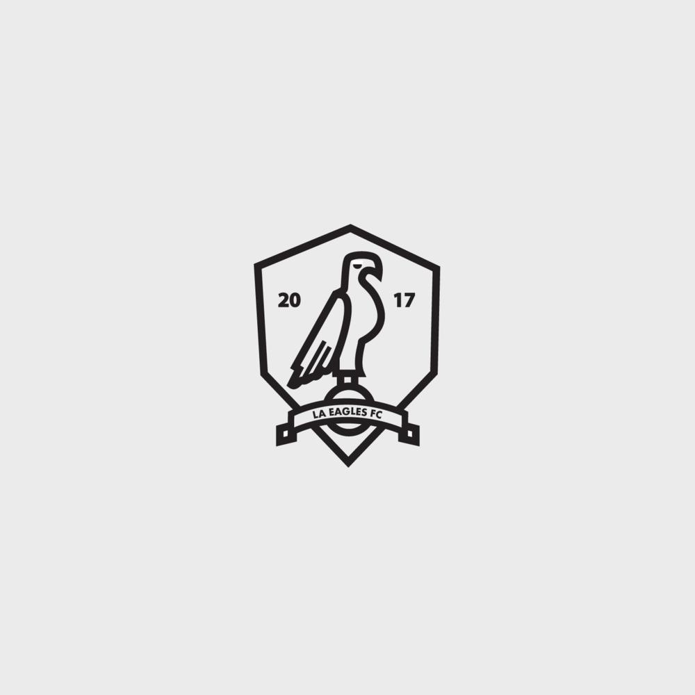 la fc logo design