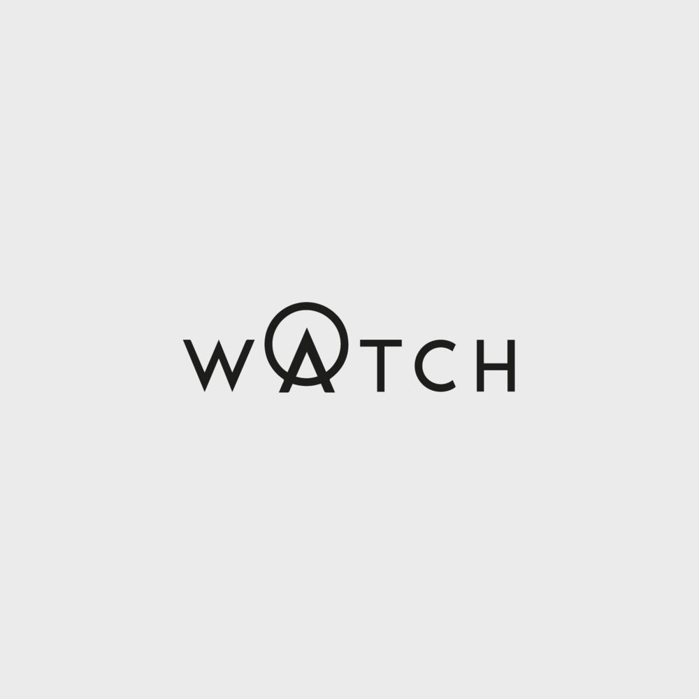 watch london logo design