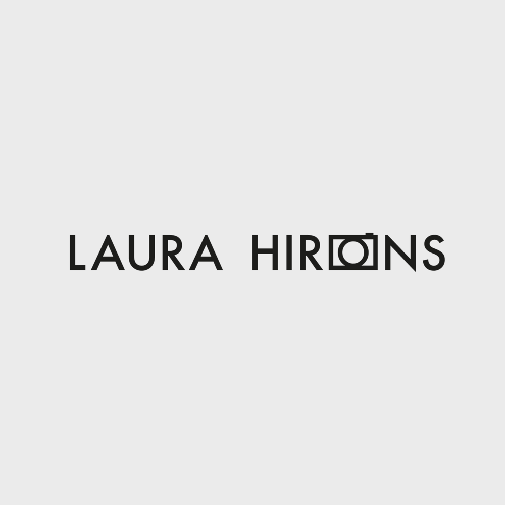 laura hirons photography logo design