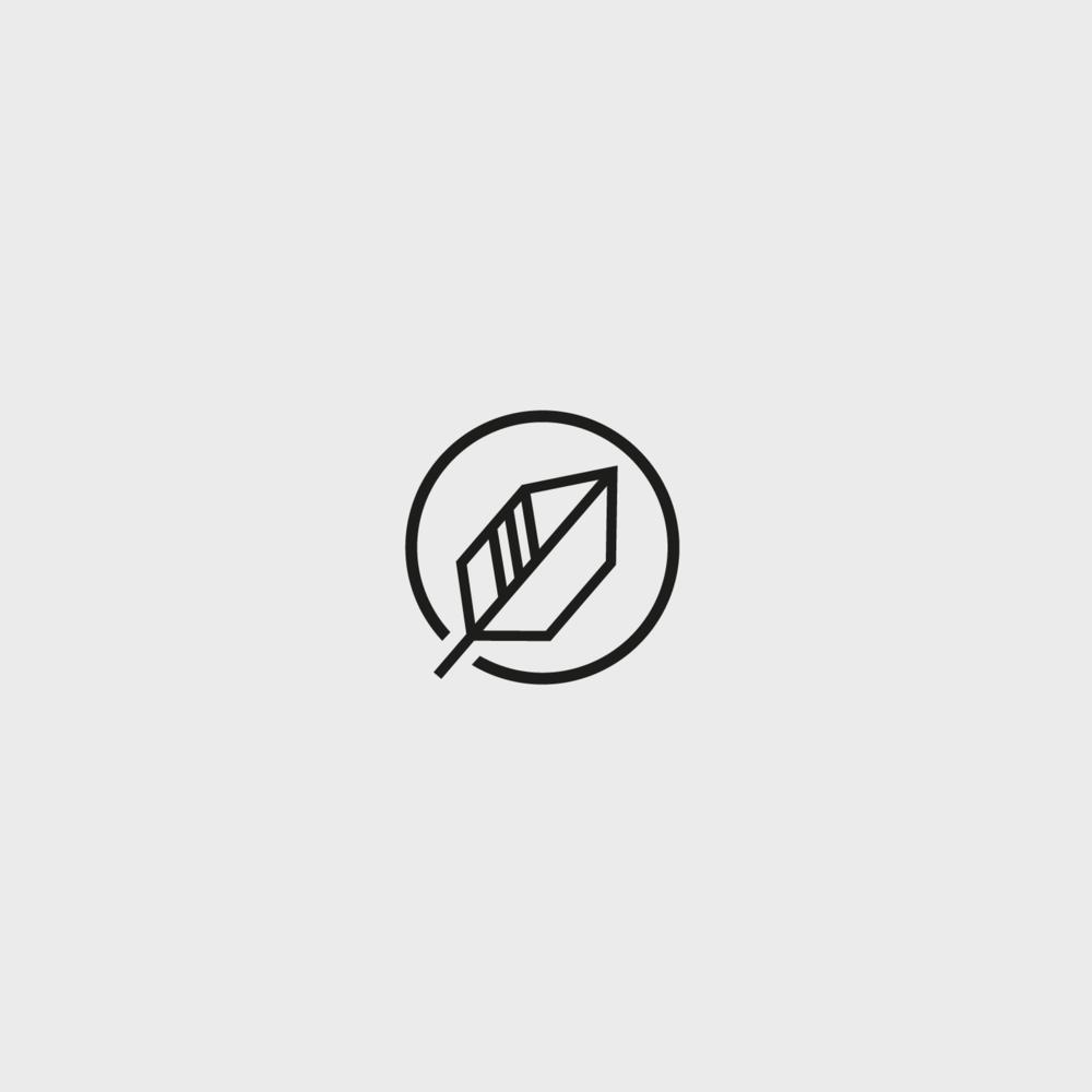 red ink cricket brand identity design