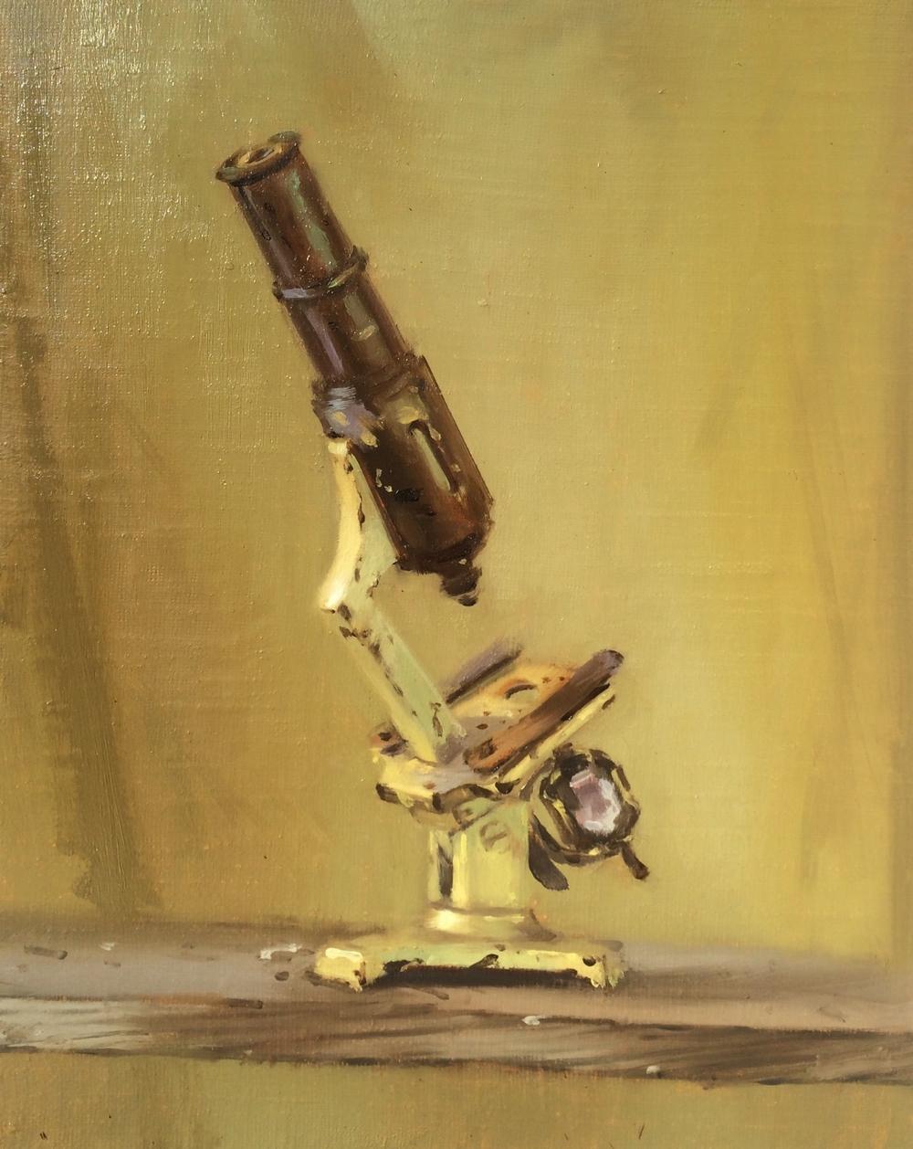 Antedeluvian Microscope