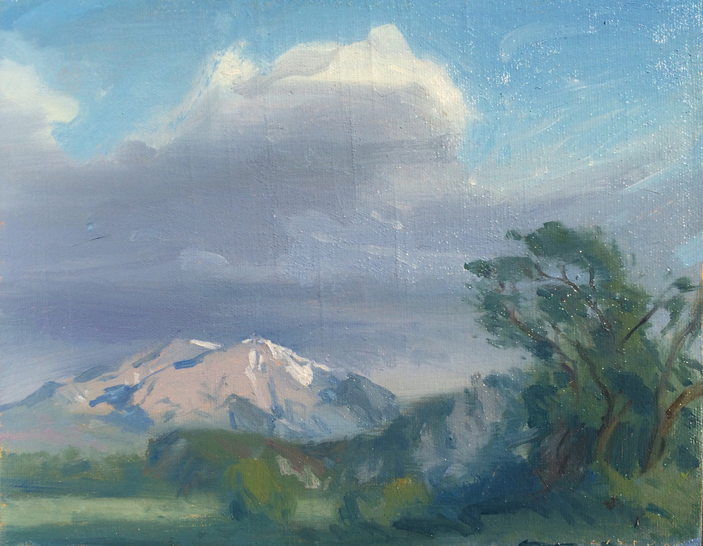 Sopris from Snobble's Pasture