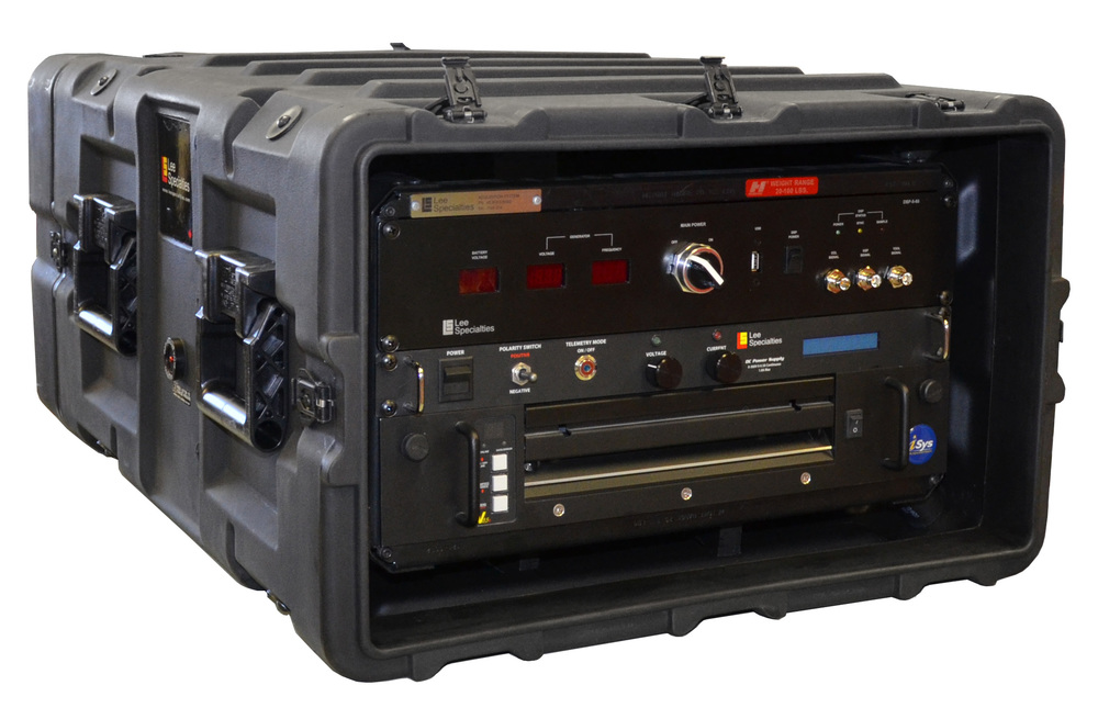 RACKMOUNT V8.5E PLACED IN A PORTABLE DATA ACQUISITION SYSTEM BY DATACAN