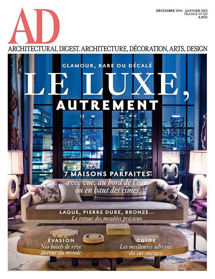 Architectural Digest France / Jan 2015
