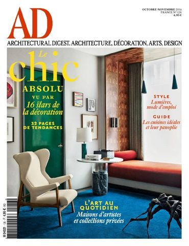 Architectural Digest France / Nov 2014