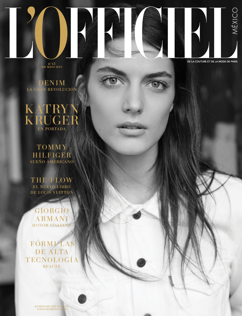L´Officiel Magazine / May 2015