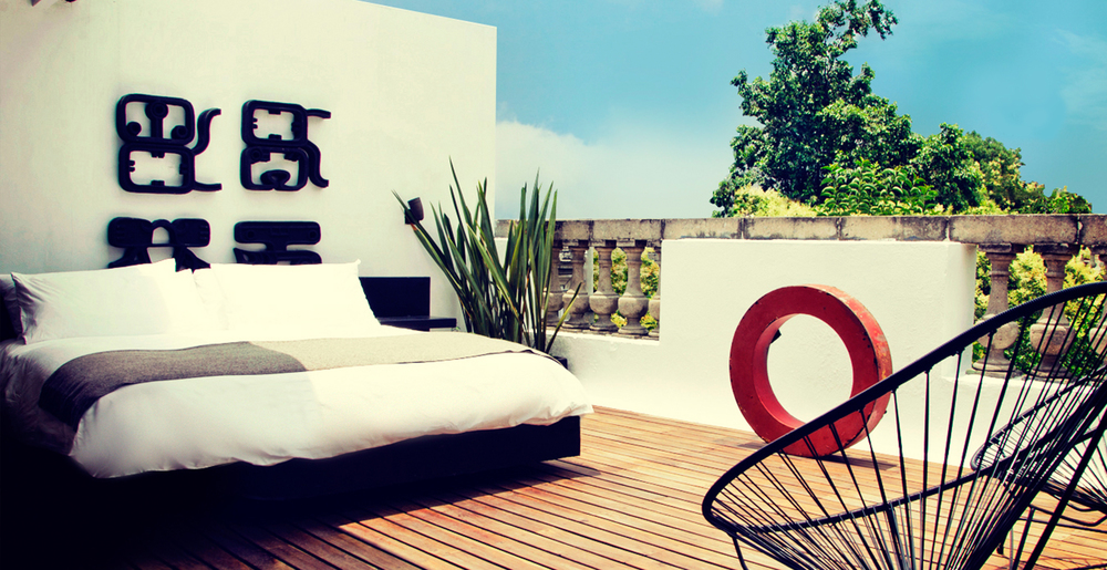 As unique as our Guests ®    La Valise Hotel is a luxurious small hotel and an urban refuge considered one of the hippest stays in Mexico City