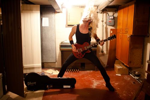 Z. Panek as James Hetfield of Metallica | Halloween 2011