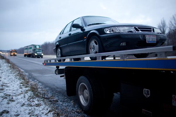 Saab down