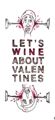 It's a party:  Valentine's day  Poster by:  Kelley + Pete