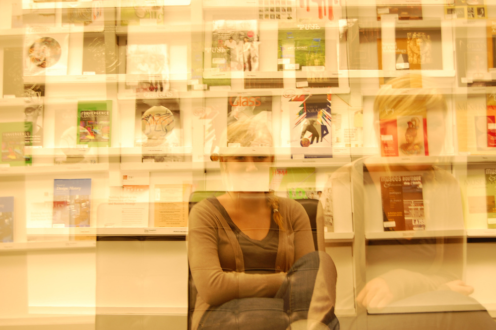 A Couple months ago I encouraged Brad Wensink to buy a Digital SLR camera. He got a D40 - A few months later he did a double exposure of his girlfriend/my neighbor Kelly - shown above. I love it! Good job Brad. ——————————————————————– In other news:  I got this from Adam. Repeat after me. Rules: Once you've read this, you are supposed to write a note with 16 random things, facts, habits, or goals about you and then post it. 1. headphones and earbuds hurt my ears after wearing them for a couple minutes 2. when eating, i clean my hands very often 3. i wore a yellow hat all summer when i was in 6th grade because of a bad haircut 4. i ask, 'sorry, what did you say?' - even when i hear what the person said the 1st time 5. i love to jump off really high things into water 6. i played organized football for 8 years 7. i still haven't given up on believing that i can make millions of dollars somehow 8. i wait to do laundry at school until i run out of undies 9. i'm the 2nd neatest person in my apartment 10. i never nap & sleeping with someone is always better than sleeping alone 11. i love to listen/hear/observe/critique, when my friends produce creative things 12. my parents should be on the cooking channel 13. i still want to be on the real world 14. i love fender, but secretly like gibson more 15. i will go on tour and/or a road trip before i am 25 16. i will form a supergroup consisting of all my highly-talented friends - totally