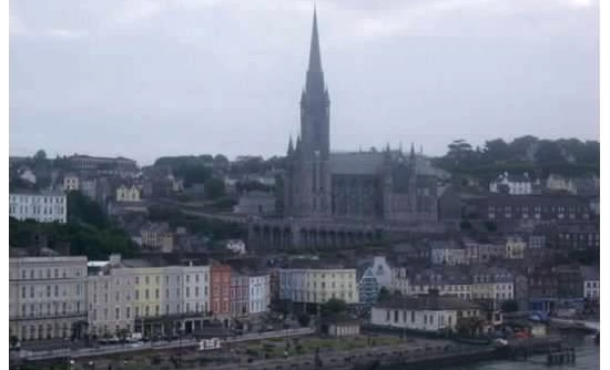 Cobh (Queenstown) where survivors and the dead were both taken after the sinking.