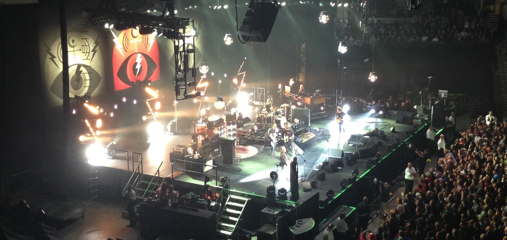 Pearl Jam concert in Memphis, October 2014