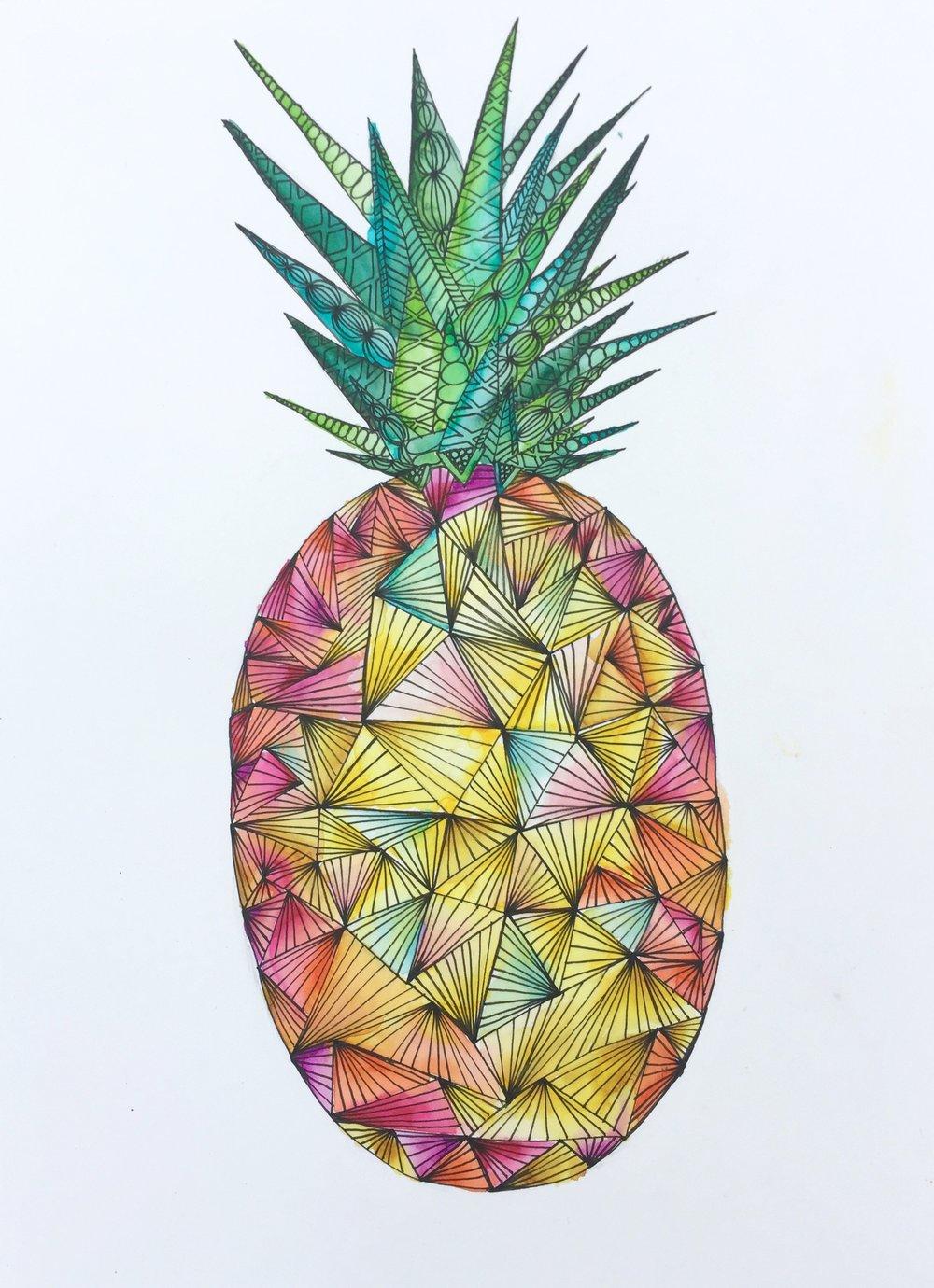 Day 24 - Rainbow Pineapple.jpg