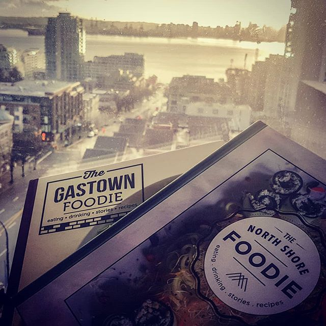 Foreground #NorthShore, background #Gastown... foreground #NorthShoreFoodie, background #GastownFoodie! Recipes and stories from the best restaurants in the North Shore and Gastown. Almost 40 restaurants and 100 recipes in both.