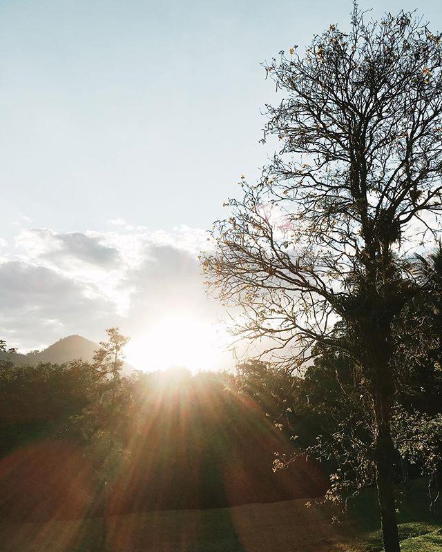 E assim a gente encerra mais um dia de trabalho por aqui! A natureza é linda! Deus é bom!