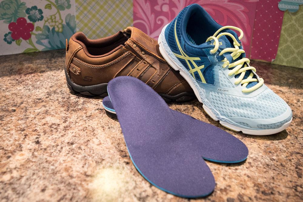 custom made orthotics and orthopedic shoes