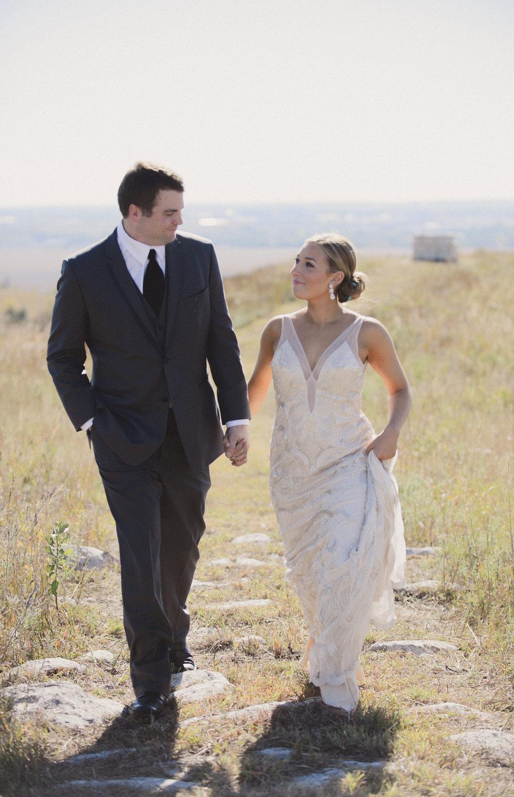 October 2014.We got married on the ranch I grew up on in Manhattan, Kansas. #ottosontheprairie