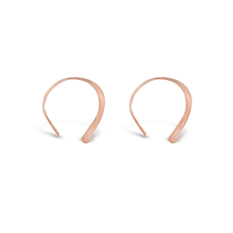 Gold Dust Earrings in Rose Gold