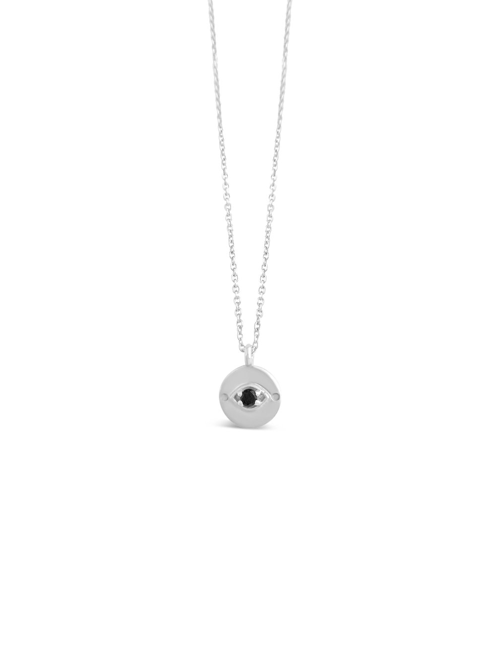 necklace sterling silver eye evil olizz