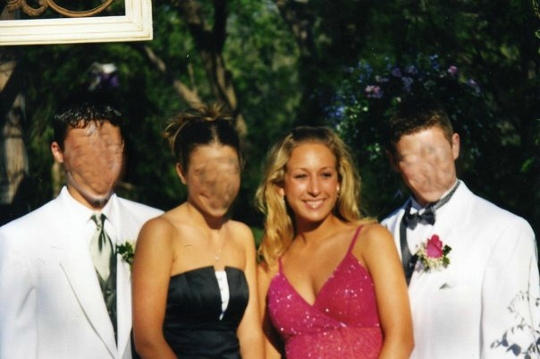 Teenage Sierra caring way to much about her social life and NOT wearing sunscreen.