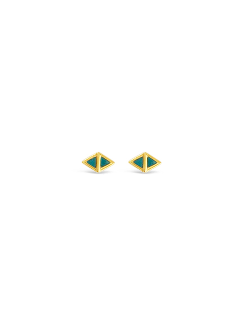 Sierra Winter E033 Scout Earrings Gold Vermeil Post Earring.jpg