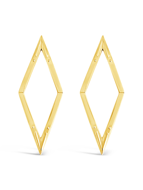 Diamond Back Earrings