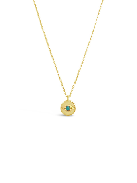 Sierra WInter Jewelry N007-GV Evil Eye Necklace Turquoise.jpg