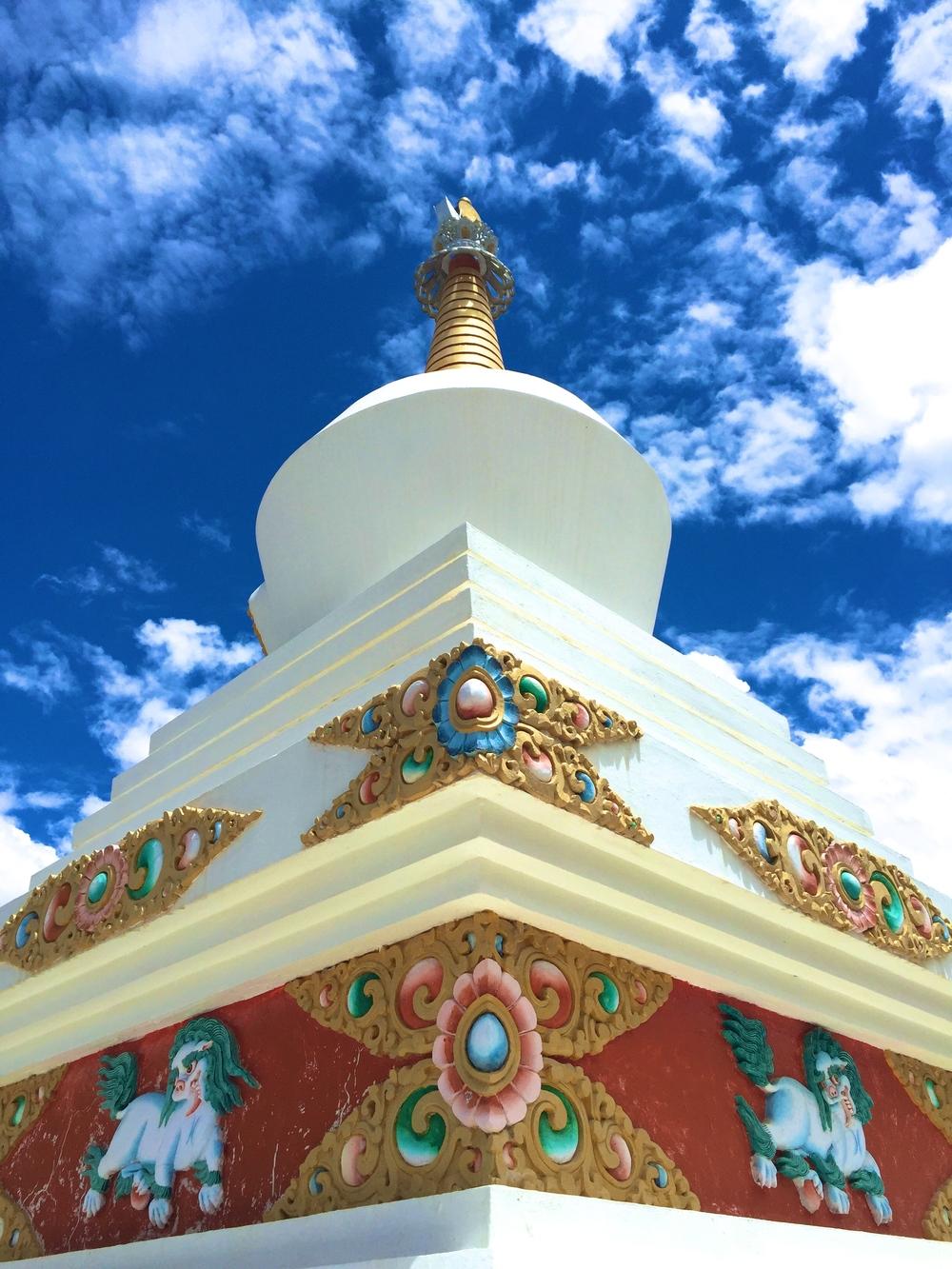 Sacred Tibetan Stupa
