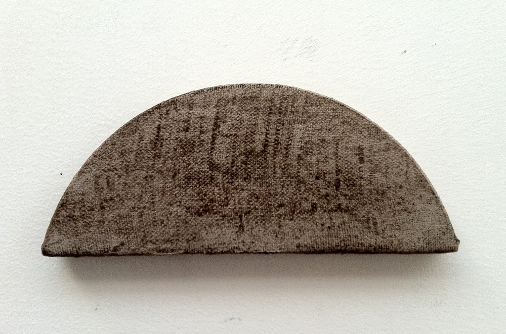 "Small Arch, Oil / Linen, 2 3/4 x 6 3/4 x 1/2"", 2012"