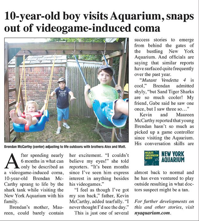 NY Aquarium - Coma