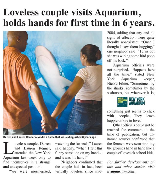 NY Aquarium - Loveless