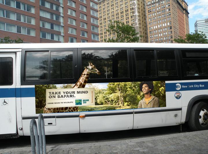 Bronx Zoo - Giraffe Bus King