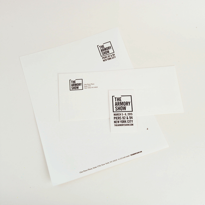 Armory Show Stationery