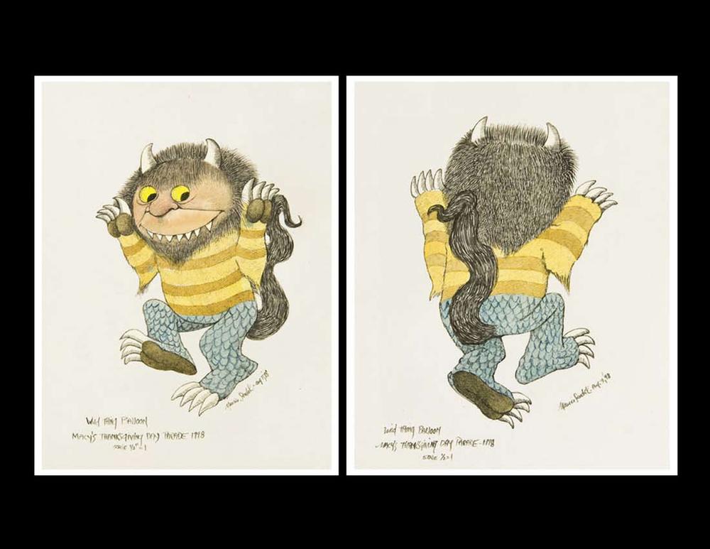 Maurice Sendak's Sketches