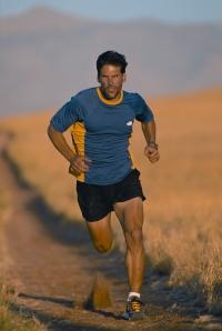 Karnazes, running the trails. Photo courtesy of Dean Karnazes