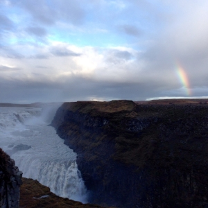 Gullfoss plus bonus rainbow