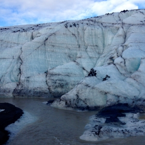 Solheimjokull Glacier, first time I've set foot on a glacier – my favorite experience of the trip.