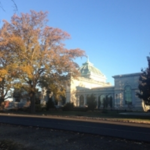 Memorial Hall in Fairmount Park;the start and finish