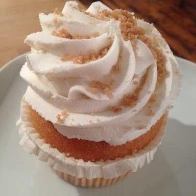 Time off means indulging a bit, as I did when I ate this Vegan Carrot Cake Cupcake from Whole Foods.