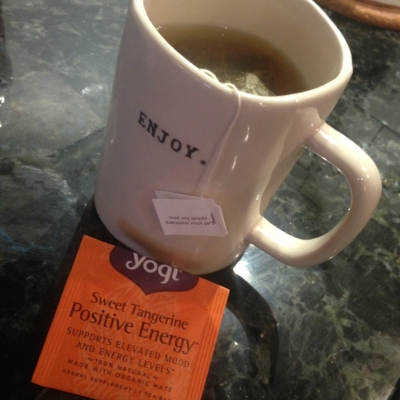I was grateful for my Yogi Tea from Stride Box