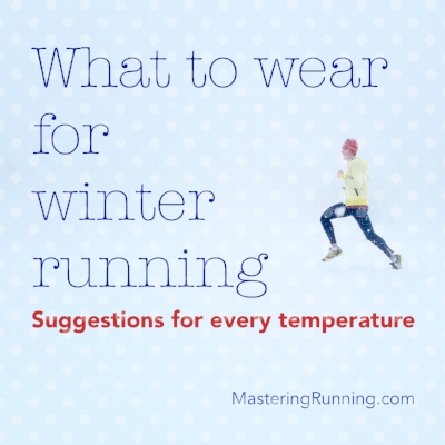 What to wear for winter running in every temperature