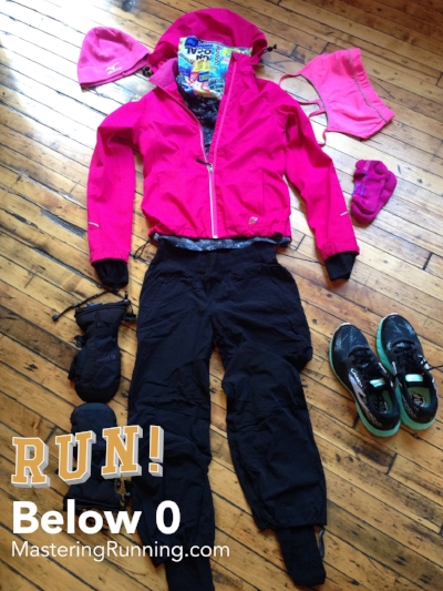 What to wear for winter running/ below 0 degrees