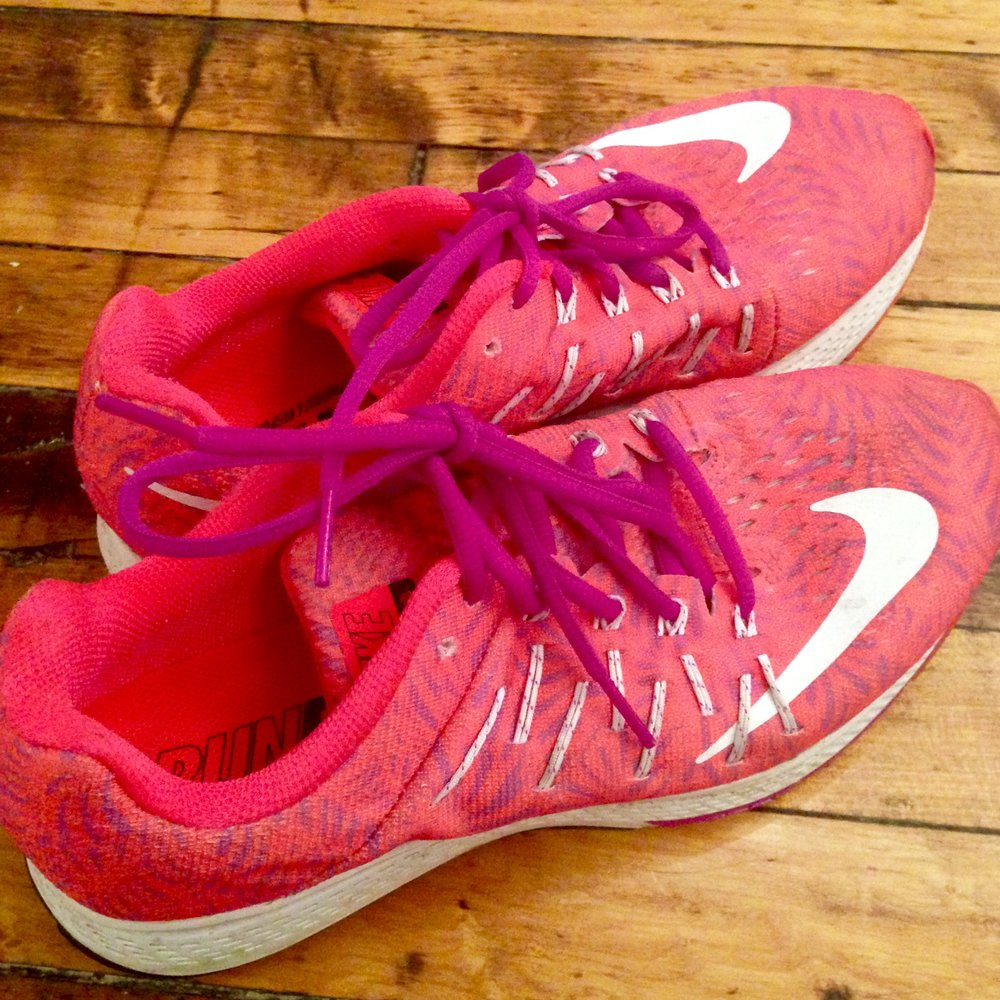 I wasn't crazy about the Nike swoosh placement, the overall pattern or the odd shade of pink. Who cares, when a shoe feels this good?