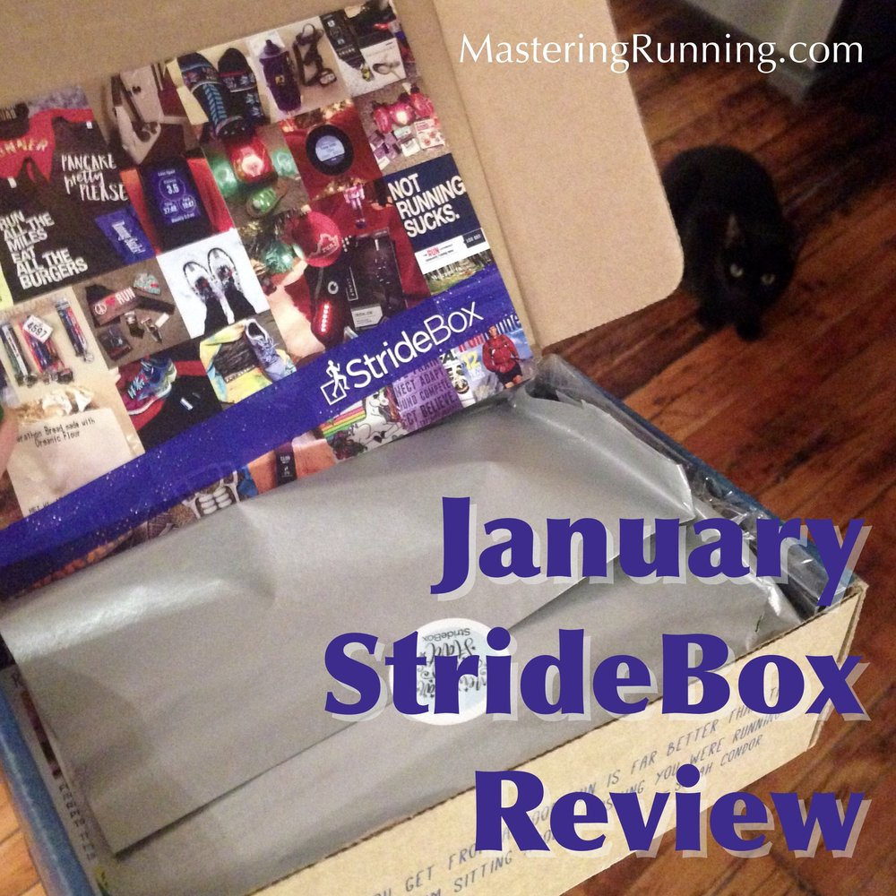 Nero is checking out this month's Stride Box